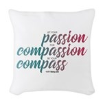 ComPassion Woven Throw Pillow