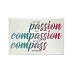 ComPassion Rectangle Magnet (10 pack)