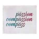 ComPassion Throw Blanket