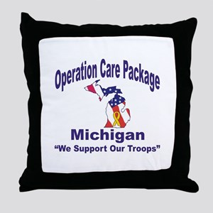 OCP Michigan Throw Pillow