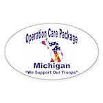 OCP Michigan Oval Sticker