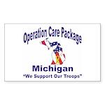 OCP Michigan Rectangle Sticker