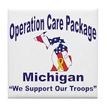 OCP Michigan Tile Coaster