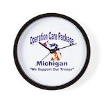 OCP Michigan Wall Clock