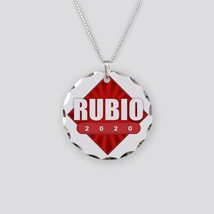 Marco Rubio 2020 Necklace Circle Charm