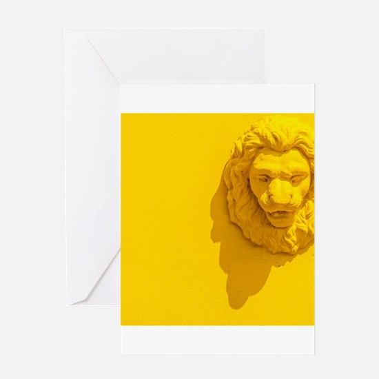 i am the king Greeting Cards