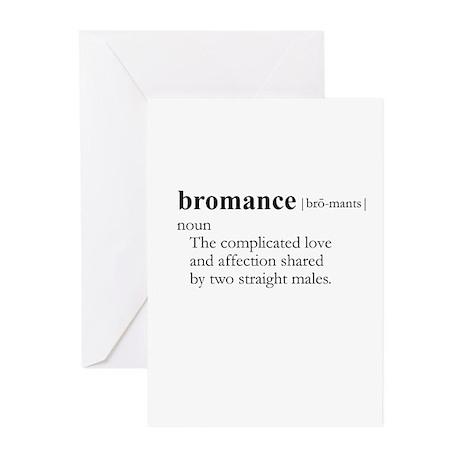 BROMANCE / Gay Slang Greeting Cards (Pk of 20)
