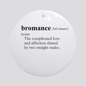 BROMANCE / Gay Slang Ornament (Round)