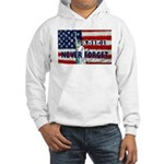9-11-01 Never Forget Hooded Sweatshirt