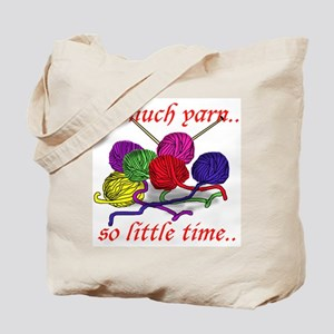 So Much Yarn Knitting Tote Bag