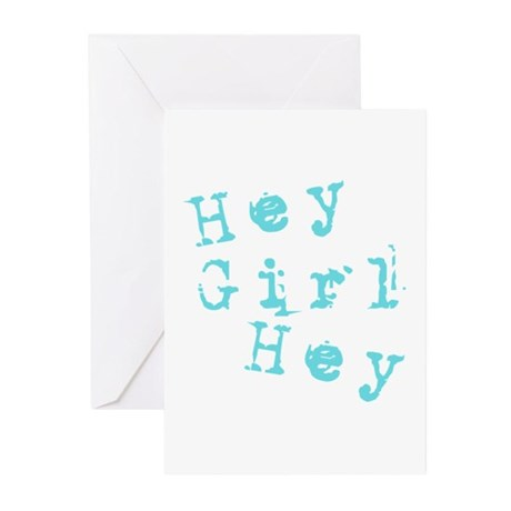 HEY GIRL HEY Greeting Cards (Pk of 10)