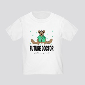 Future Doctor like Auntie Toddler T-Shirt