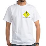Kickstands Up Men's T-shirt with NER logo on back