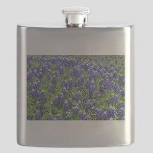 Texas Bluebonnet Field Flask