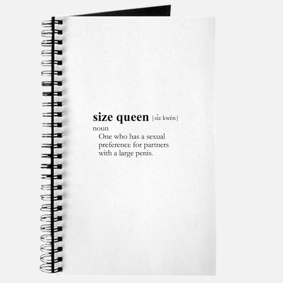 SIZE QUEEN / Gay Slang Journal