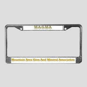 MAGMA License Plate Frame