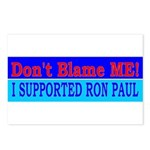 Don't Blame ME-RP Postcards (Package of 8)