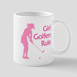 Girl Golfers Rule Mug