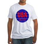 USA Est. 1776 Fitted T-Shirt