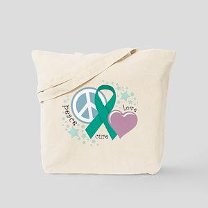 Ovarian Cancer PLC Tote Bag