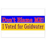 Don't Blame ME-BG Large Poster
