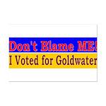 Don't Blame ME-BG Mini Poster Print