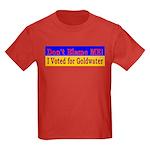 Don't Blame ME-BG Kids Dark T-Shirt