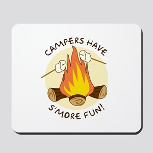 """S'more Fun"" Mousepad"