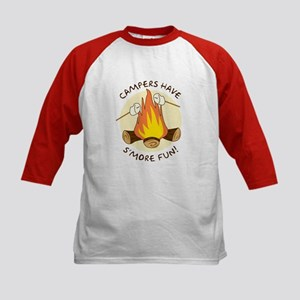 """S'more Fun"" Kids Baseball Jersey"
