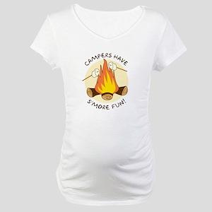 """S'more Fun"" Maternity T-Shirt"