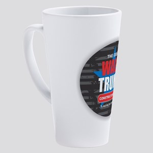 Wall of Trump 17 oz Latte Mug