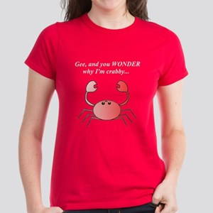 CRABBY PREGNANCY Women's Dark T-Shirt