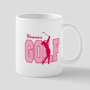 Pink Ladies Golf Logo Mug