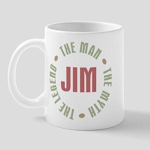 Jim Man Myth Legend Mug