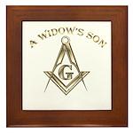A Widows Son Framed Tile