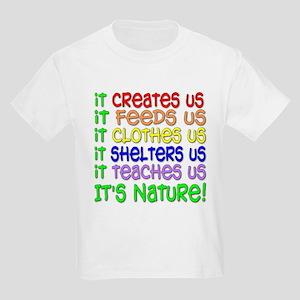 It's Nature Kids T-Shirt