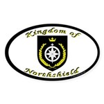 Kingdom of Northshield Oval Sticker (10 pk)