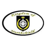 Kingdom of Northshield Oval Sticker