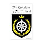 Kingdom of Northshield Rectangle Sticker
