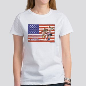 American Heroes Child Care Women's T-Shirt