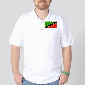 St Kitts & Nevis Golf Shirt
