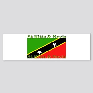 St Kitts & Nevis Bumper Sticker