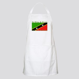 St Kitts & Nevis BBQ Apron