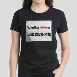 World's Hottest Land Developer Women's Dark T-Shir