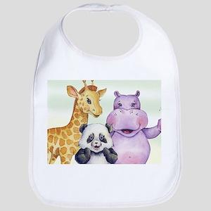 Happy Animals Baby Bib