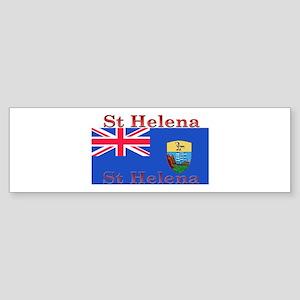 St Helena Bumper Sticker