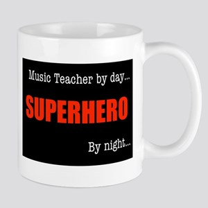 Superhero Music Teacher Mug