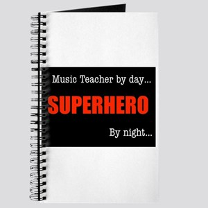 Superhero Music Teacher Journal