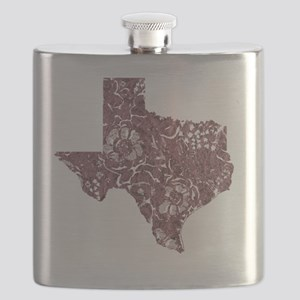 Texas State Is My Home Longhorn Design 11 Flask