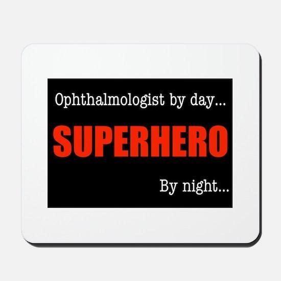 Superhero Ophthalmologist Mousepad
